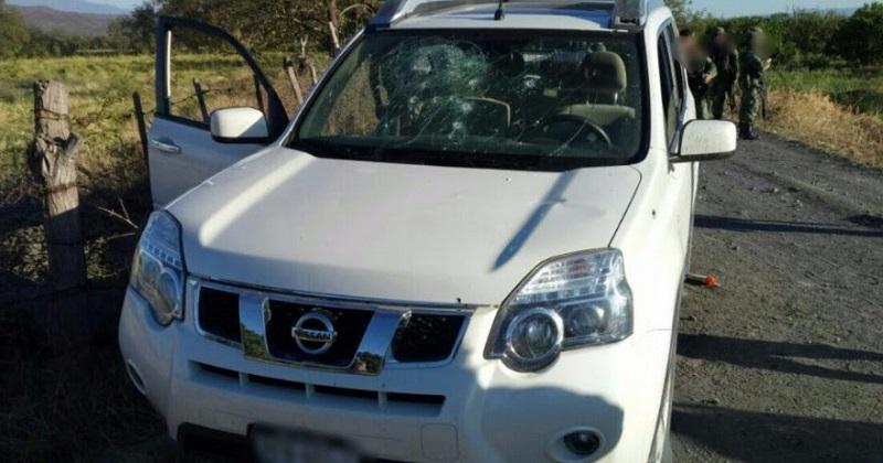 Los vehículos y los cartuchos fueron puestos a disposición de la autoridad competente