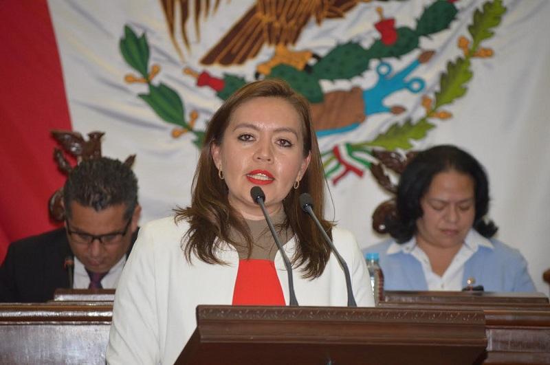 Yarabí Ávila González es la presidenta de la Comisión Inspectora de la ASM en el Congreso de Michoacán
