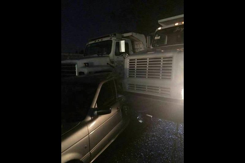 El percance y las labores de rescate provocaron un intenso caos vehicular en la zona.