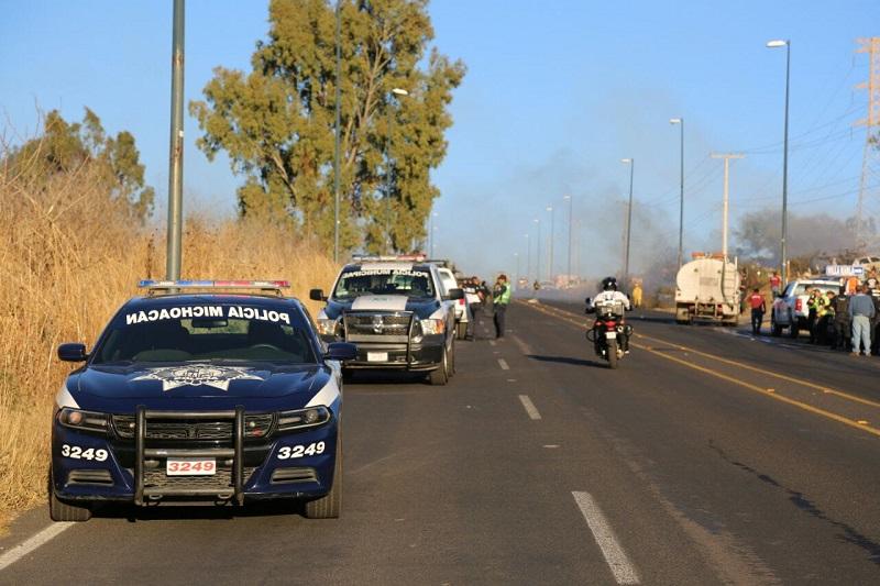 Según la SSP, los vehículos siniestrados se encontraban en el corralón desde hace 10 años
