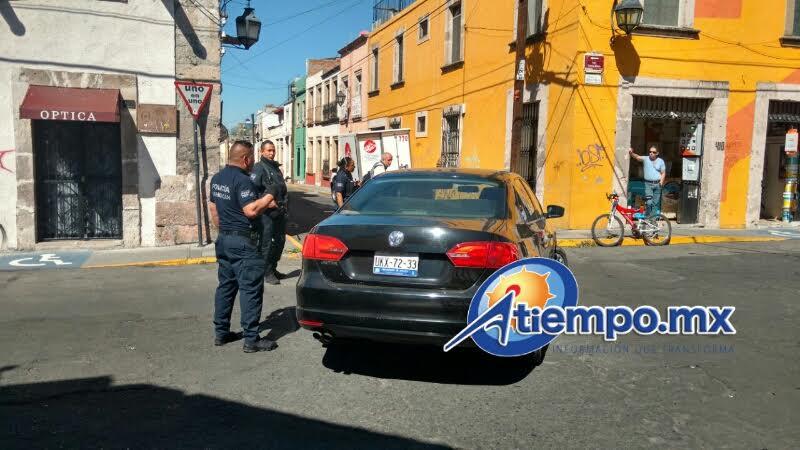 En la ciudad de Morelia se implementó un operativo de búsqueda, pero no lograron dar con los delincuentes (FOTOS: FRANCISCO ALBERTO SOTOMAYOR)