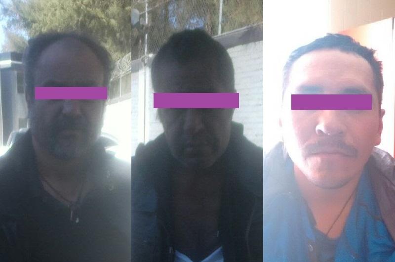 Los detenidos fueron puestos a disposición de la Procuraduría General de la República a fin de que las autoridades competentes definan su situación legal