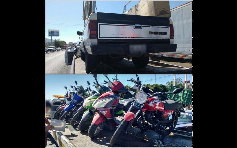 La acción operativa logró en pocas horas la remisión a corralón de 41 vehículos, de éstos, 13 son motocicletas