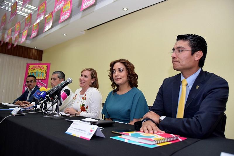 Rocío Beamonte detalló que se contará con la instalación de más de 200 puestos de gastronomía de los municipios y dependencias del gobierno federal, estatal, asociaciones civiles, así como medios de comunicación