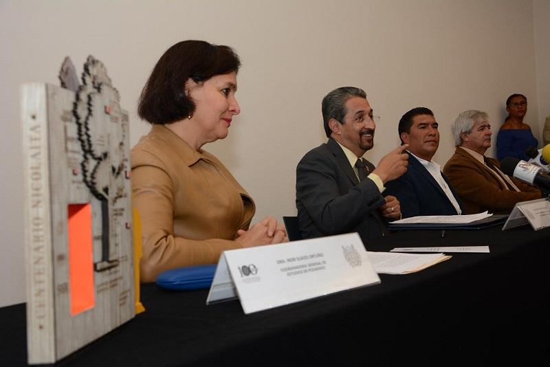 Quedó instalado el Comité Nicolaita para el Espacio Centenario del municipio parachense