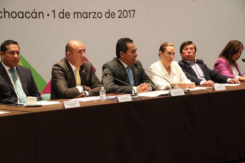 El secretario de Gobierno detalló la conformación reciente de dos importantes organismos de este tipo: el Consejo Estatal para Prevenir y Eliminar la Discriminación y el Sistema Estatal de Protección Integral de Niñas, Niños y Adolescentes de Michoacán (SIPPINA)