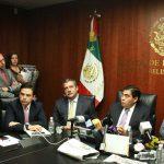 Morón se pronunció a favor de que la Fracción Parlamentaria del PRD en el Senado se mantenga cohesionada y Miguel Barbosa continúe como coordinador