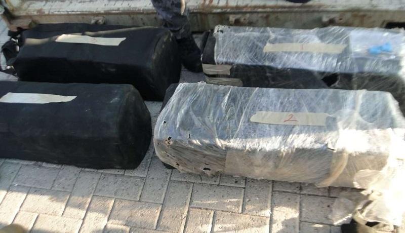 El contenedor con el cargamento asegurado procedía del puerto de Balboa, Panamá, con destino final a México y llevaba cuatro maletas que en su interior tenían paquetes rectangulares con polvo blanco