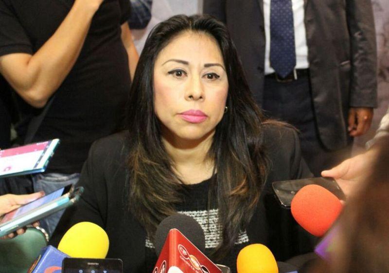 La delegada confirmó que el excomisionado, Alfredo Castillo no ha sido llamado a comparecer, ni ha mandado por escrito comparecencias (FOTO: Mario Rebollar)