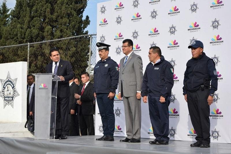 Aureoles Conejo reiteró su compromiso para seguir trabajando por generar todas las condiciones de estabilidad social