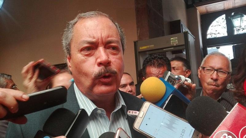 Víctor Silva dijo que no se puede hablar sobre una sanción a Vallejo Figueroa, ya que será la Comisión Nacional de Justicia Partidaria del PRI, la que determinará esta situación