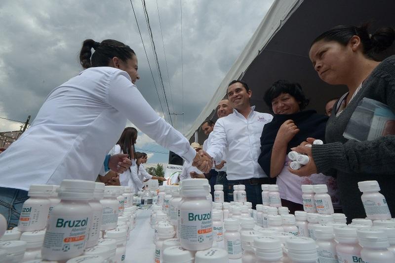 Marín Chávez, afirmó que esta acción no será un esfuerzo aislado para que la población cuide de mejor manera su estado de salud, sino que se la dará puntual seguimiento a las necesidades encontradas y así realizar una atención integral en la materia