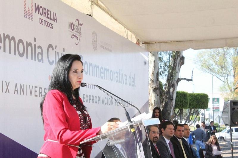 Bahena Villalobos insistió que esta fecha puede ser un factor transformador si constituye un llamado a la acción y a cambiar el estado de las cosas