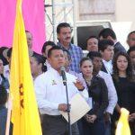 El líder del PRD llamó a la unidad de los perredistas para hacer un gran frente y evitar que nuevamente gobiernos de derecha vuelvan al poder, o de lo contrario los mexicanos deben prepararse para otro sexenio (FOTOS: Mario Rebollar)