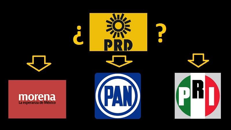 """Esos 6 puntos que las encuestas le dan al PRD la posibilidad de convertirse en el fiel de la balanza y por eso dice Silvano Aureoles que su partido """"determinará"""" quién será el próximo presidente de la República"""