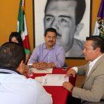 Al reunirse con diputados de la Comisión de Asuntos Indígenas del Congreso local, Martín García Avilés comentó que la aspiración a la igualdad y la no discriminación, es clave a los Derechos Humanos