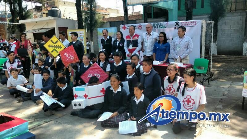 El evento se realizó en la Escuela Primaria Mariano Matamoros, ubicada en la colonia El Vivero (FOTOS: FRANCISCO ALBERTO SOTOMAYOR)