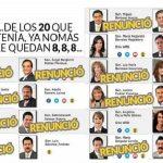 La bancada del PRD quedará conformada por sólo 8 senadores, 3 más de los cinco que necesita para conformarse como grupo parlamentario. De éstos 8 podrían quedar en 7, si se niega el regreso de la líder nacional del PRD, Alejandra Barrales Magdaleno, a la Cámara Alta.