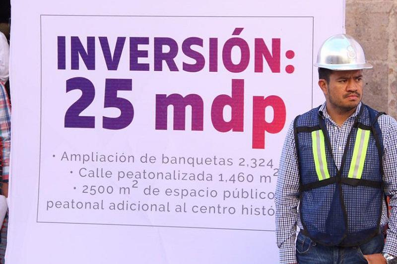 Se pide la comprensión de la ciudadanía y considerar vías alternas de circulación, así como a prever el tiempo de traslado en el Primer Cuadro de la capital michoacana, para evitar contratiempos
