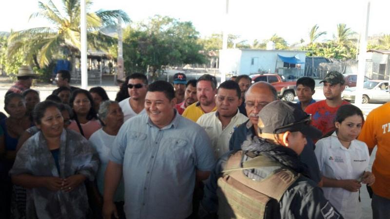La SSP precisa que en ningún momento el alcalde José Luis Arteaga y el delegado Rafael Muñiz fueron retenidos por los comuneros