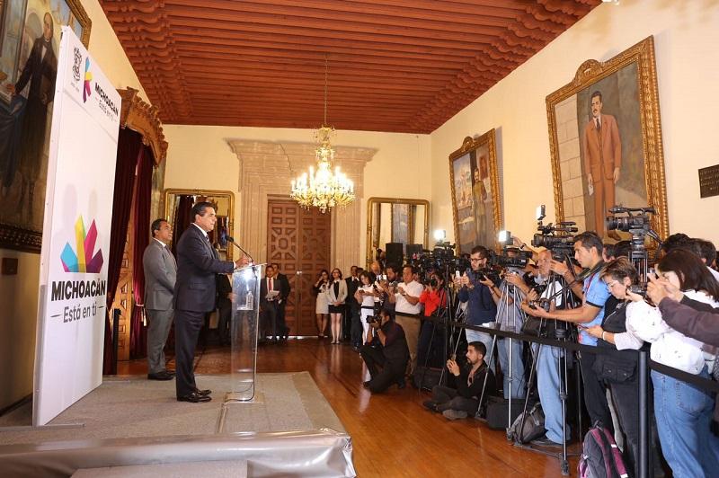 Los cambios se dan a 18 meses de iniciada la administración estatal de Silvano Aureoles Conejo