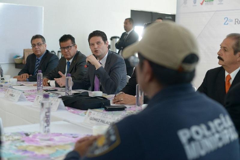 El director de Seguridad Municipal de Chihuahua reconoce compromiso del Presidente Municipal de Morelia, con la seguridad de la capital
