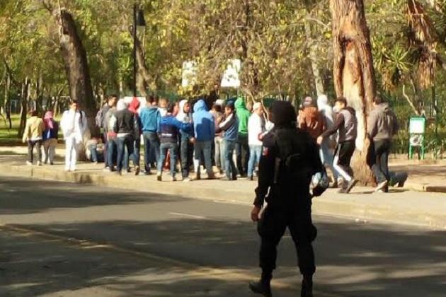 Hasta el momento se desconocen las demandas de los manifestantes