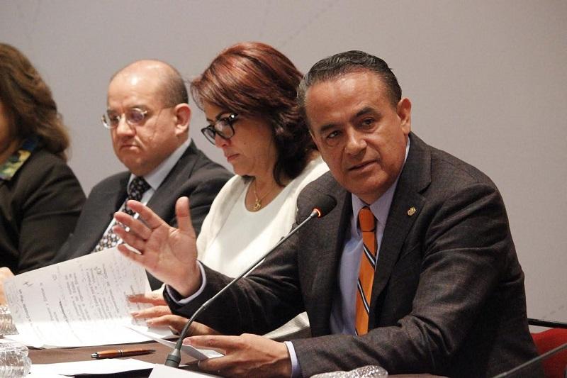 En el evento estuvieron presentes los diputados Nalleli Pedraza, Presidenta de la Comisión de Derechos Humanos, José Guadalupe Aguilera y Xóchitl Ruiz