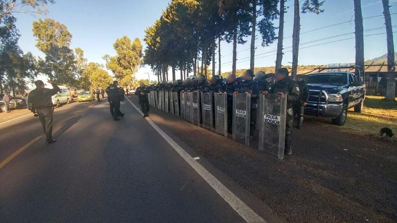 La SSP exhorta a los manifestantes a expresar sus demandas con pleno respeto a las garantías de la ciudadanía, sin quebrantar la ley