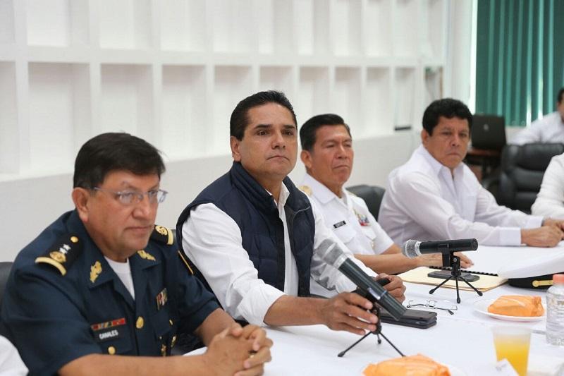 Durante esta sesión del GCM se presentaron los resultados de los diversos operativos realizados en la región Lázaro Cárdenas del 23 de marzo a la fecha