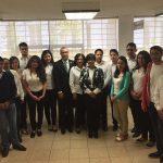 Virginia Hernández Silva, directora de la FCCA, encabezó la apertura del módulo de servicio del SAT dentro en la sede de la Facultad