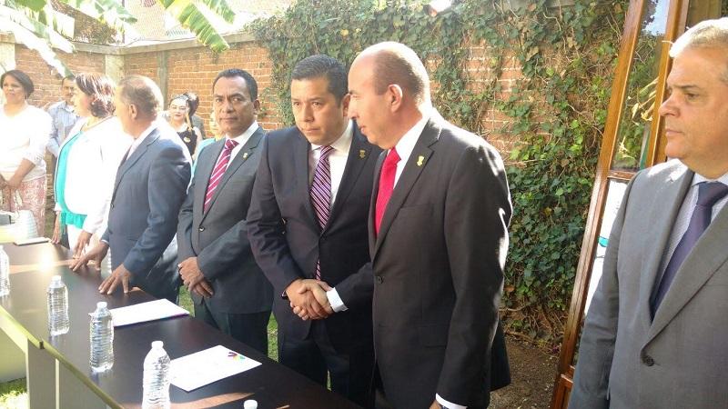 Barragán Vélez agradeció la confianza del gobernador Silvano Aureoles y se comprometió a cumplir con esta nueva encomienda (FOTO: FRANCISCO ALBERTO SOTOMAYOR)