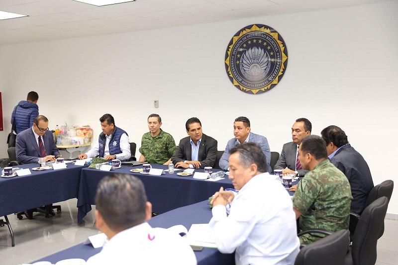 Aureoles Conejo señaló que mantendrán y fortalecerán los operativos en la región para garantizar la seguridad, la tranquilidad y la paz social