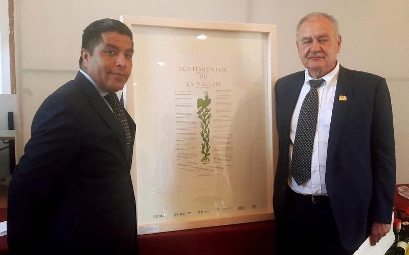 En su oportunidad, Gerardo Sánchez Díaz, agradeció la deferencia de la cual fue objeto, en especial a quienes propusieron, organizaron y difundieron este acto