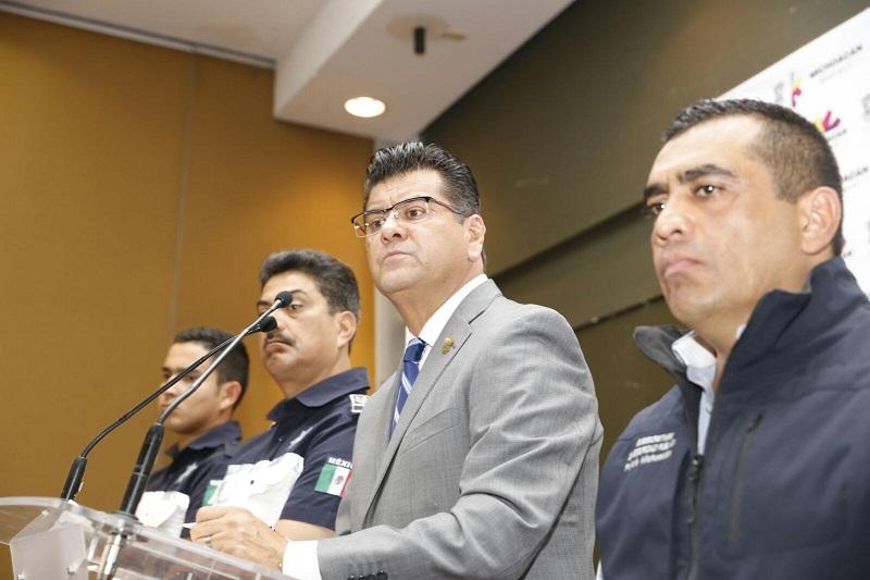 El objetivo del gobierno del estado es recuperar los 20 vehículos retenidos por los comuneros de Arantepacua y a choferes amenazados por denunciar el robo de sus unidades
