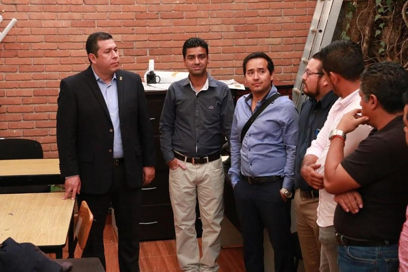 Barragán Vélez resaltó que conoce perfectamente la operatividad de los sindicatos y que en otras instituciones ha logrado acuerdos importantes