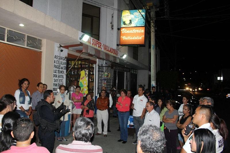 En este marco, se mencionó además que por parte de la Policía de Morelia se efectúan recorridos de vigilancia y prevención del delito de manera permanente, lo que ha logrado disminuir la iniciativa delictiva en la zona