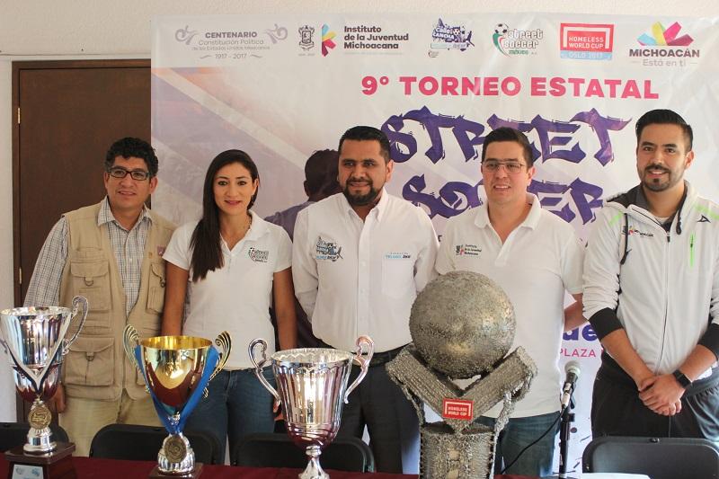 Este torneo está dirigido especialmente a los jóvenes que viven hoy en día la exclusión social por diversos motivos, tales como la violencia y las adicciones
