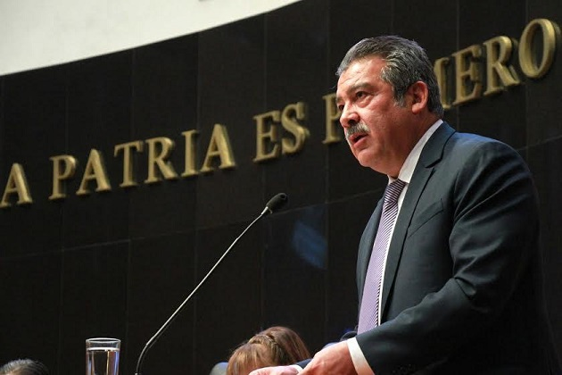 Morón Orozco exigió garantizar los derechos humanos y la justicia en la localidad michoacana