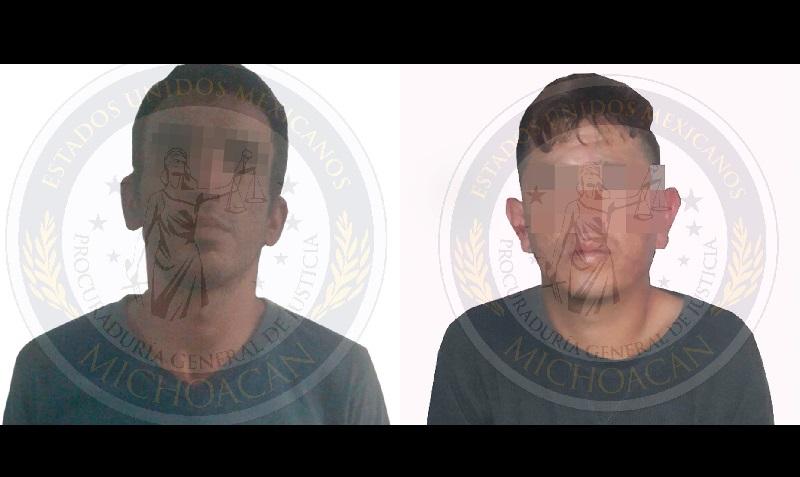 La dependencia estatal esclareció el homicidio de un hombre y detuvo con base en una orden de aprehensión a dos personas del sexo masculino relacionadas en este ilícito, registrado el 15 de marzo en esa ciudad