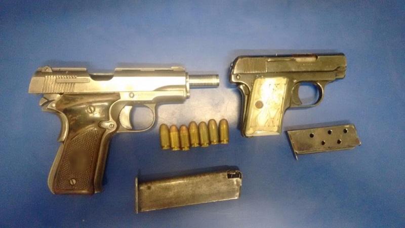 Los detenidos, armas y vehículos fueron puestos a disposición de la autoridad competente