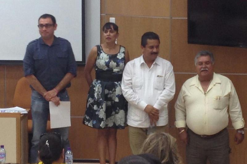 El legislador priísta apadrinó el Primer Concurso de Ortografía organizado por la asociación civil Mundinovi