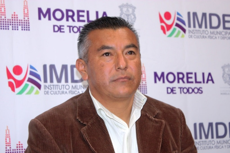 La mañana de este martes Yankel Benítez agradeció a nombre del alcalde Alfonso Martínez, el trabajo que Francisco Chávez Ibarra desempeñó al frente del IMDE