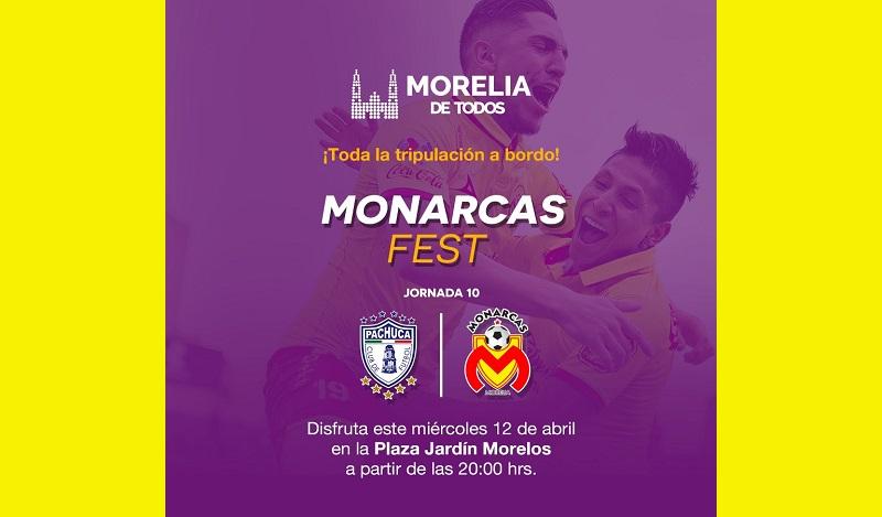 Este miércoles en punto de las 20:00 horas se proyectará el partido de futbol frente a los Tuzos del Pachuca