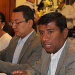 Francisco Campos, presidente del Comité de Transparencia y Acceso a la Información, expuso ante los integrantes de la Junta de Coordinación Política los avances que se tienen para dar cumplimiento a la ley en la materia