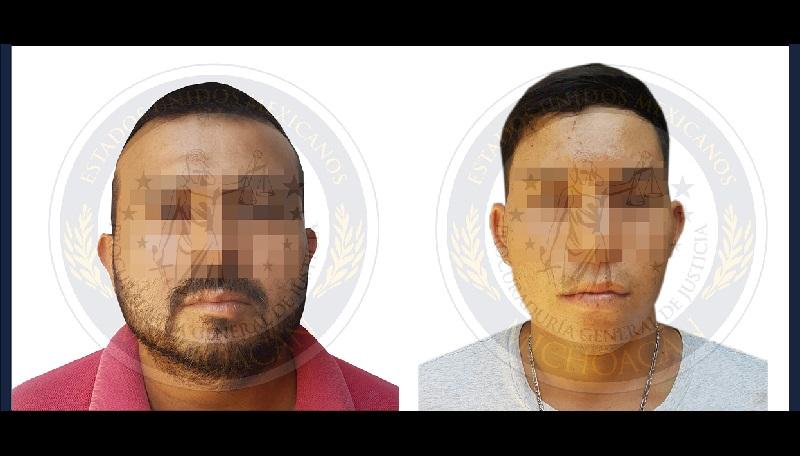 Los ahora detenidos fueron puestos a disposición del agente del Ministerio Público quien los presentó ante el juez de control a efecto de que les sea resuelta su situación jurídica por su relación en los delitos de secuestro y extorsión