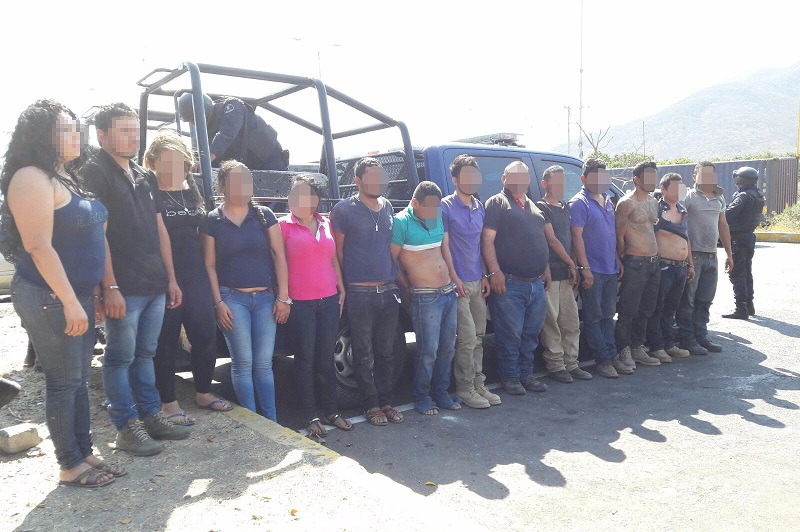 """Existen indicios que relacionan a los detenidos con el grupo delictivo conocido como """"Los Viagras"""", pero serán las autoridades competentes las que lleven a cabo las indagatorias"""