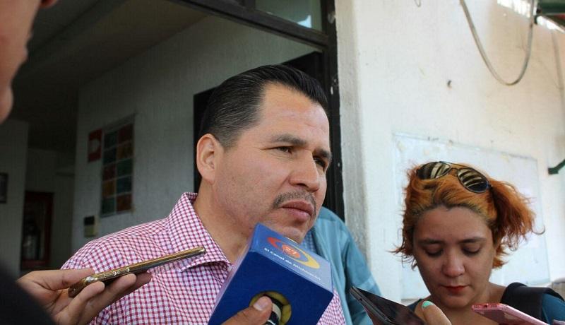 Independientemente del tema de la licitación, la Dirección de Alumbrado Sustentable tiene proyectado superar los 15 mil servicios de alumbrado en el presente año: Gil Vázquez (FOTO: MARIO REBOLLAR)