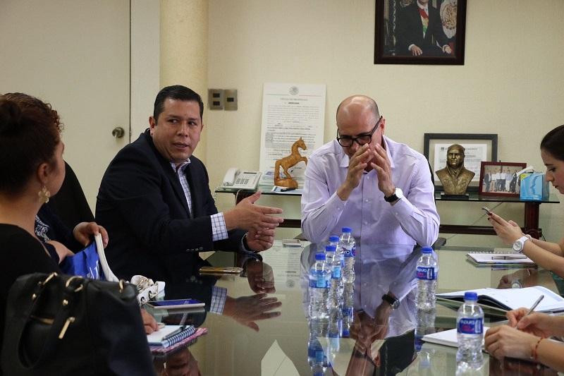 Barragán Vélez agradeció al delegado del IMSS su disposición para revisar el adeudo y así poder avanzar en la solución de esta situación
