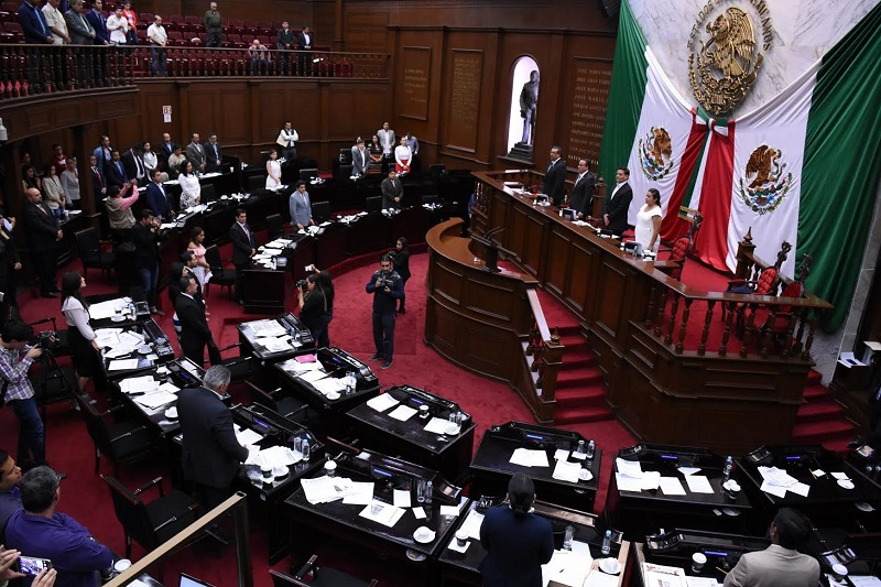 Será el 3 de junio en Sesión Solemne ante la presencia de los tres poderes de Gobierno cuando se entregue la Condecoración Melchor Ocampo a la persona o institución que sea merecedora de dicho reconocimiento
